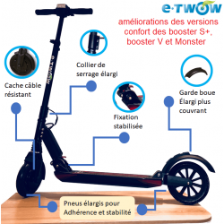 "RECONDITIONNE : Trottinette E-TWOW Booster S+ ""CONFORT"""