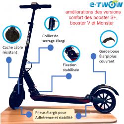 Franchissement   Jusqu à 25%. Monster Booster V - Trottinette électrique ... ba495dd2e832