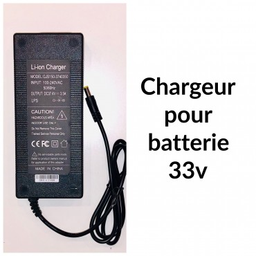 33V 3.5Ah charger for Booster PLUS - 8mm connector - CORDLESS