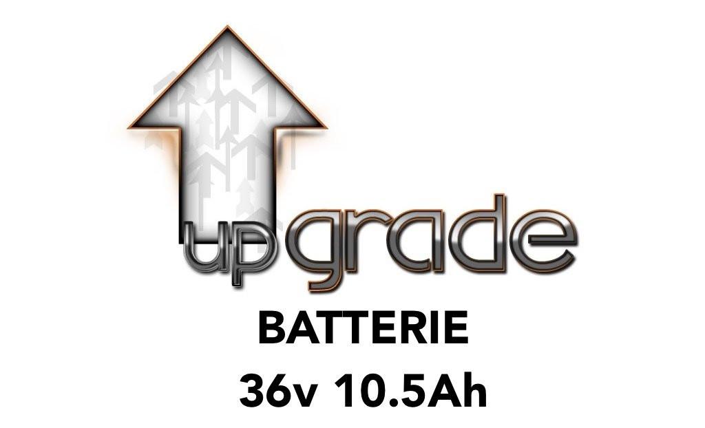 Upgrade vers batterie 36V 10.5AH