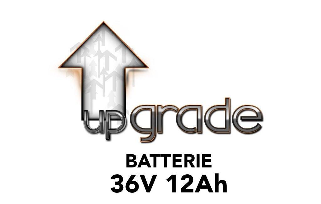 Upgrade vers batterie 36V 12AH