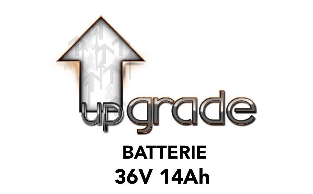 Upgrade vers batterie 36V 14AH
