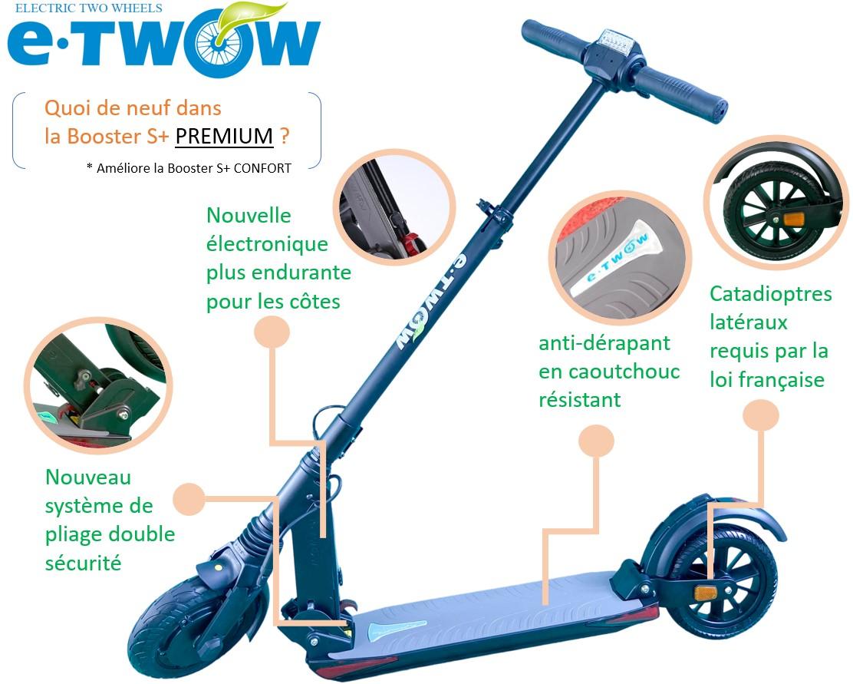 Nouveautés E-TWOW Booster S+ PREMIUM